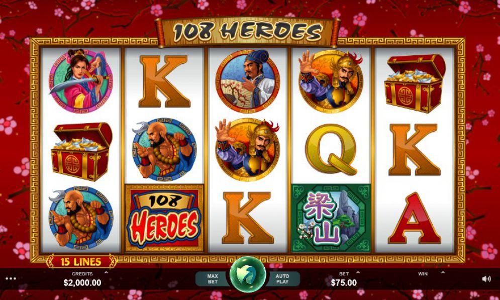 108 Heroes Slot UK Thor Slots