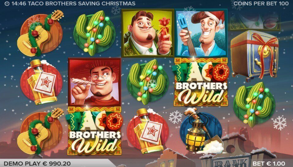 Taco Brothers Saving Christmas Slot Games