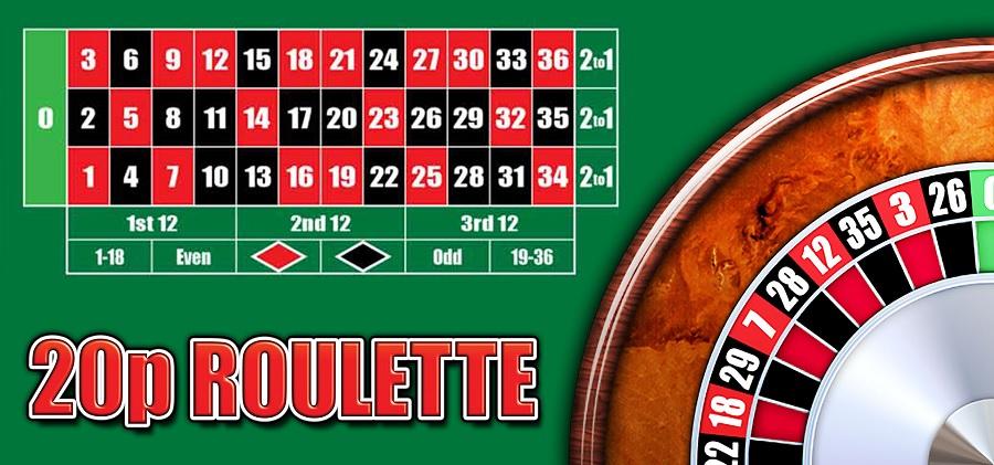 20p Roulette Thor Slots