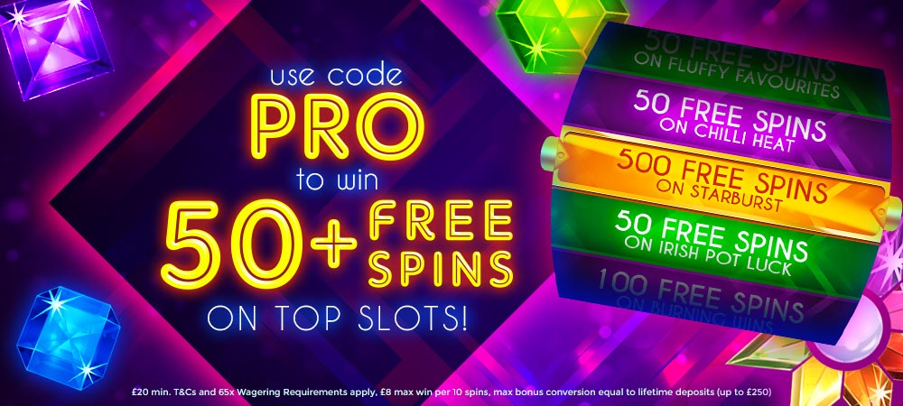 ThorSlots Promotion - 50freespins