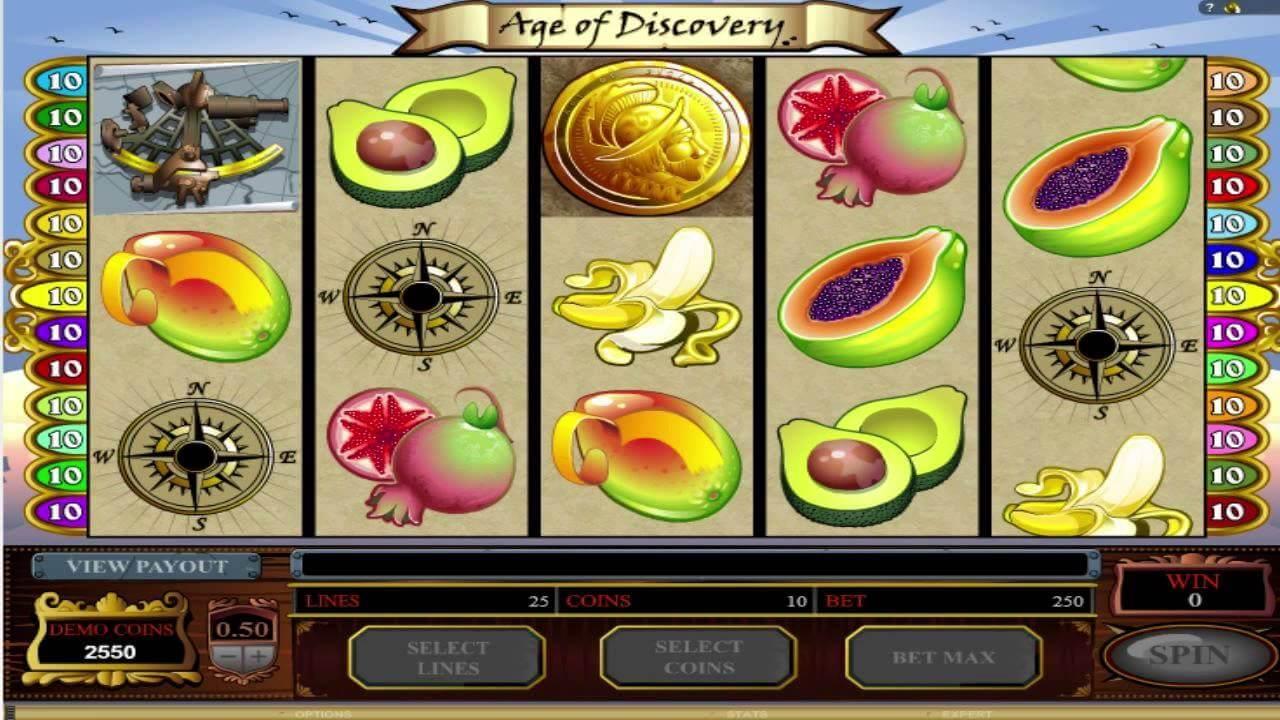 Age of Discovery Slot Bonus