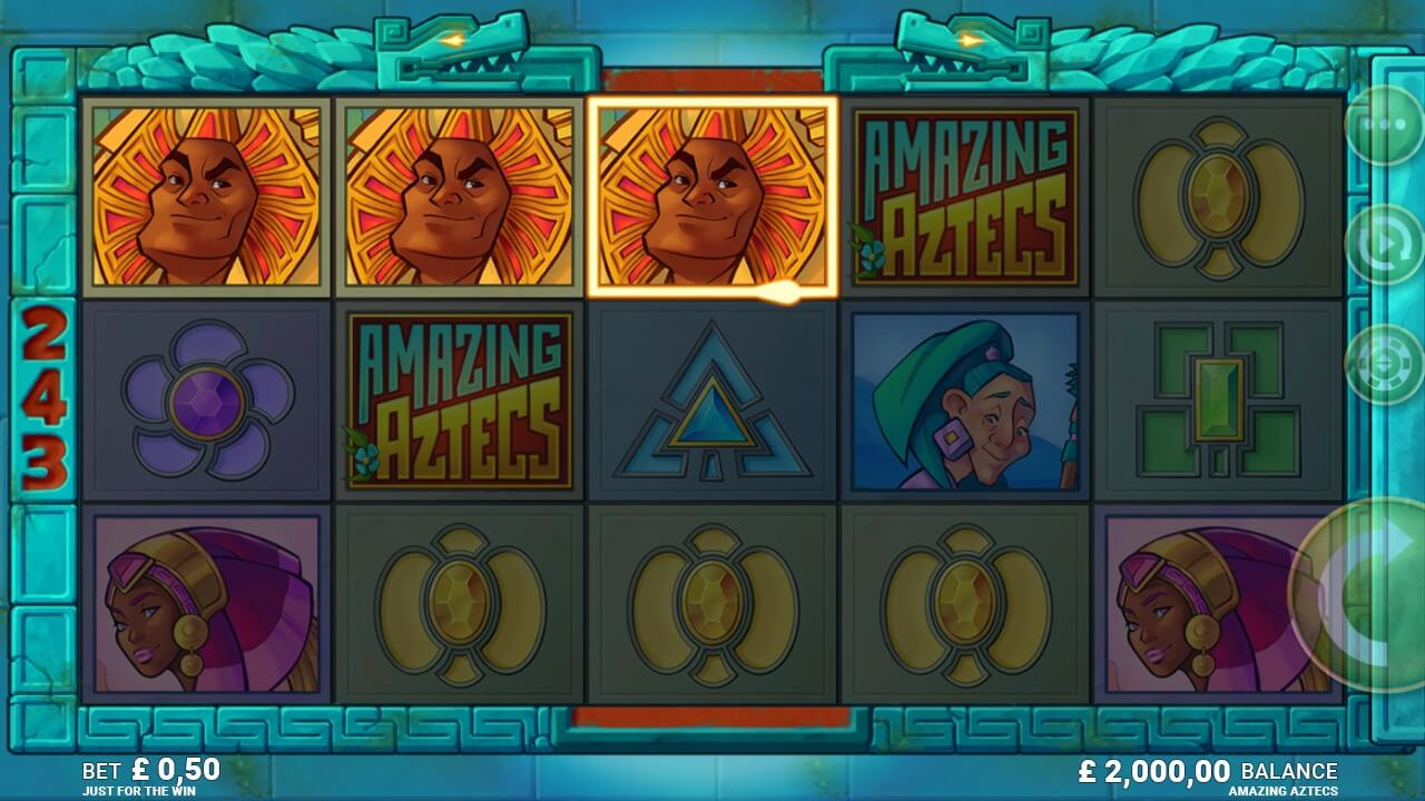 Amazing Aztecs Slot Bonus