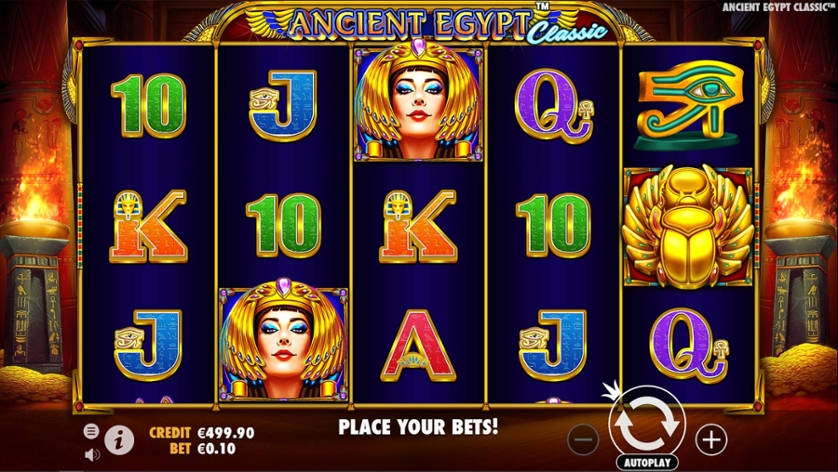 Ancient Egypt Classic Slot Gameplay