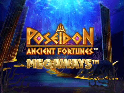 Ancient Fortunes Poseidon Megaways Slot Banner