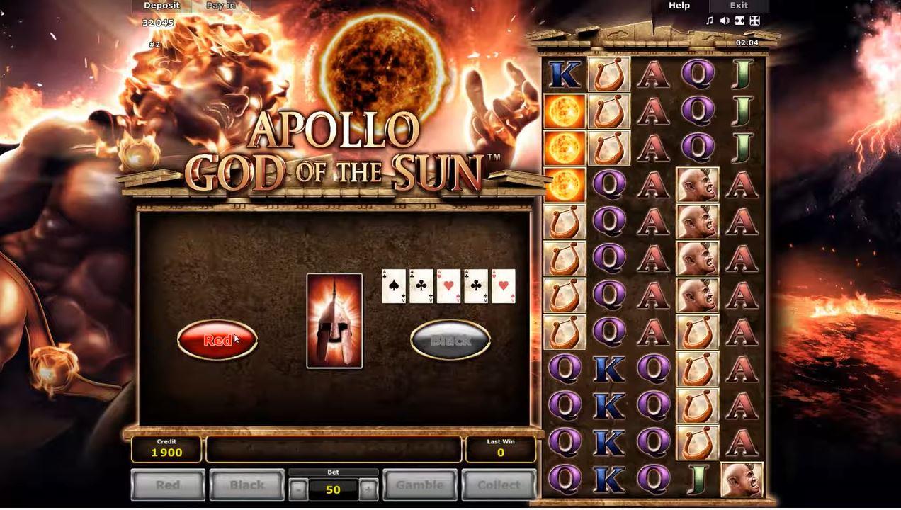 Apollo God Of The Sun Gamble Feature