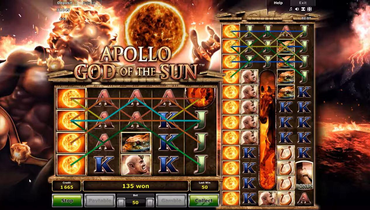 Apollo God Of The Sun Gameplay