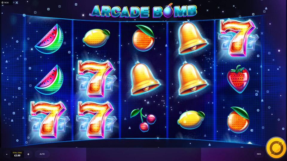 Arcade Bomb Slot Bonuses