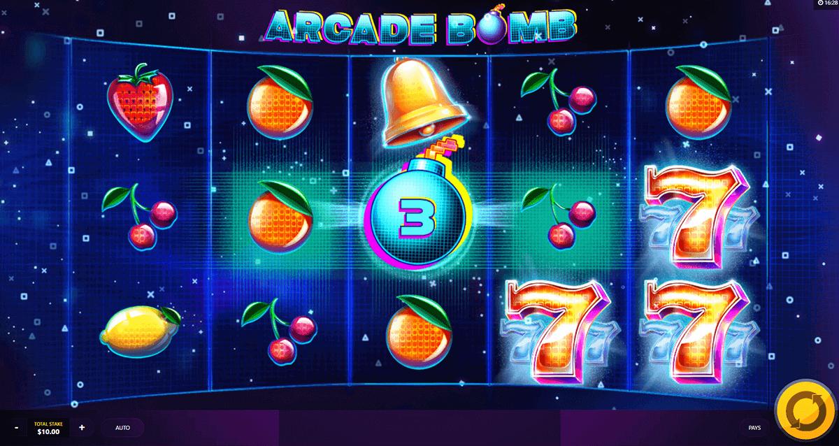 Arcade Bomb Slot Gameplay
