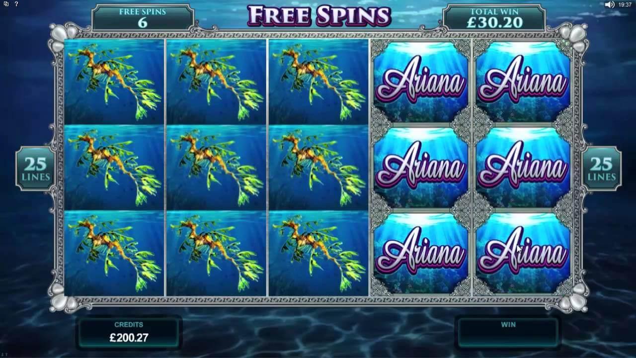 Ariana Slot Bonus