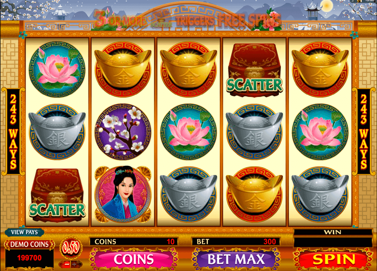 Asian Beauty Slot Gameplay