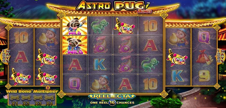 Astro Pug Slot Gameplay