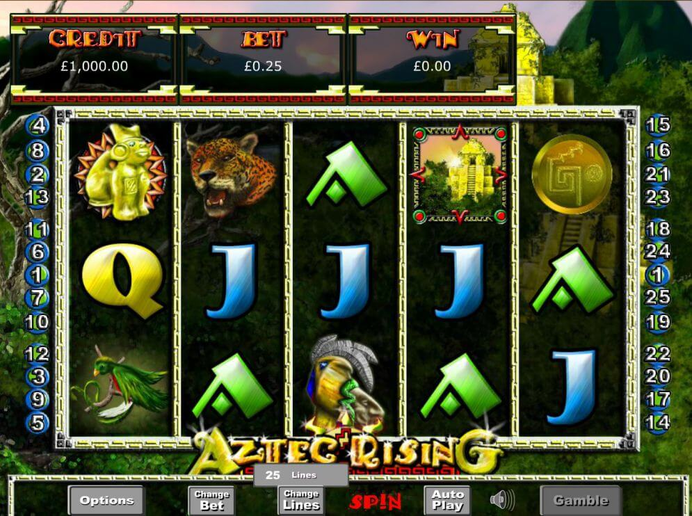 Aztec Rising Slot Gameplay