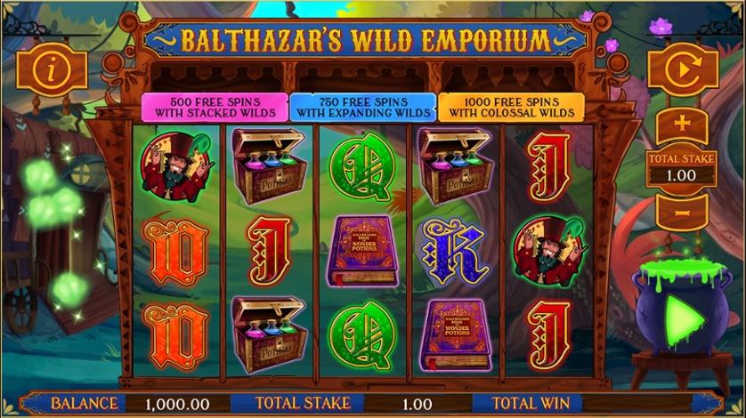 Balthazar's Wild Emporium UK Slots