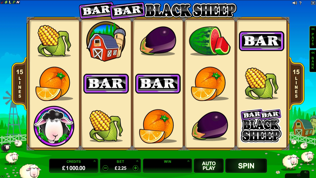 Bar Bar Black Sheep Slot Online