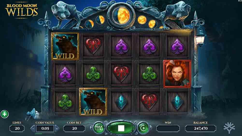 Blood Moon Wilds Slot Online