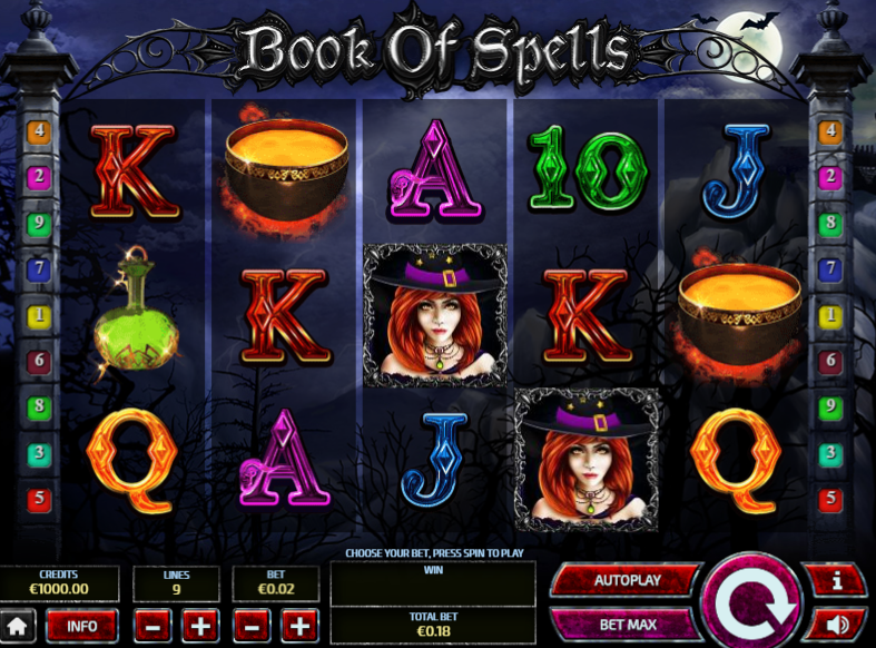 Book of Spells Slot Game