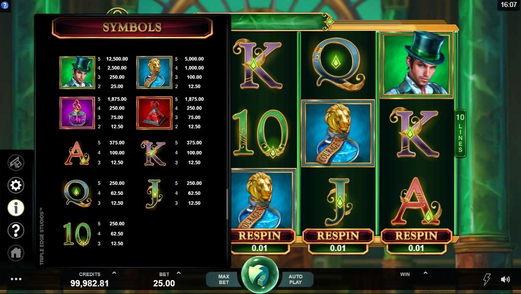 Book of Oz Slot UK