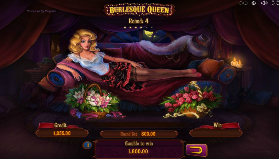Burlesque Queen Slots Online