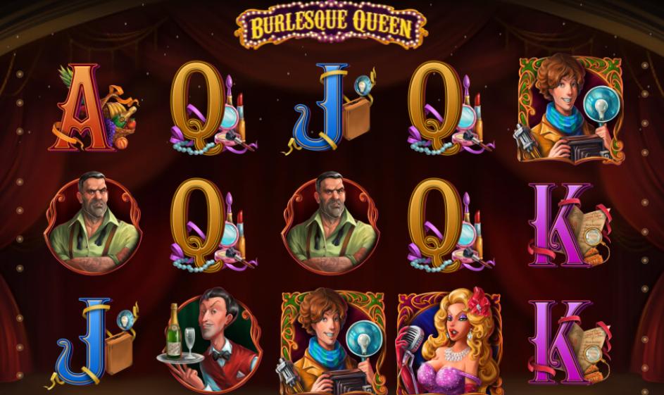Burlesque Queen Slots Thor Slots
