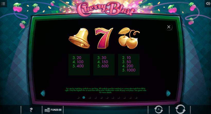 Cherry Blast Slots Game