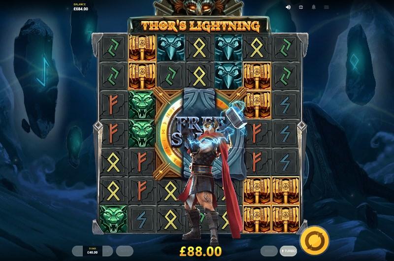 Thor's Lightning Slots Online