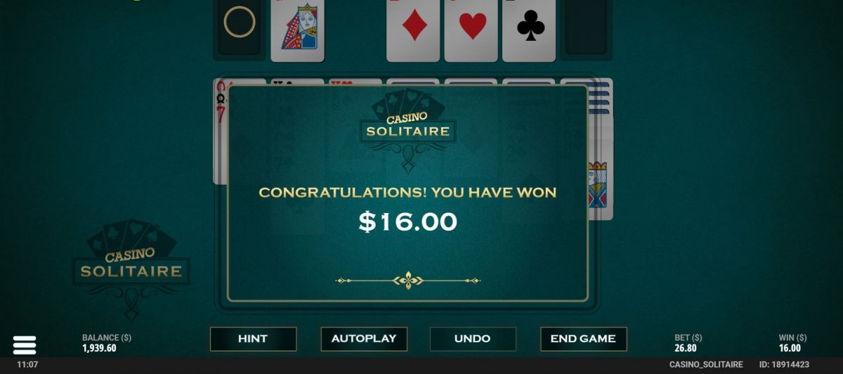 Casino Solitaire Slots Win