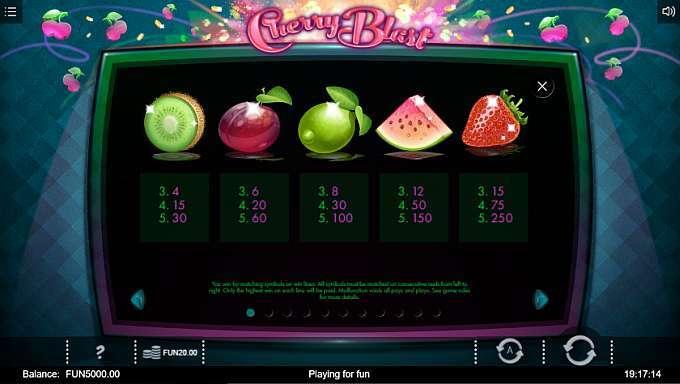 Cherry Blast Slots UK