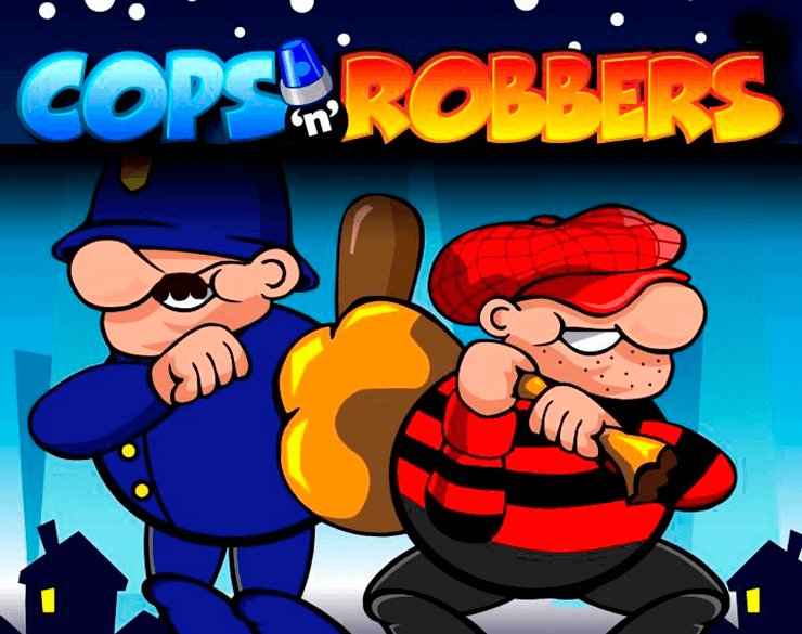 Slot Logo Cops and Robbers