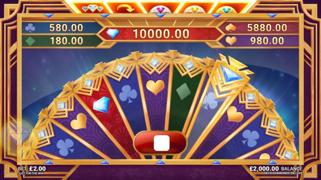 Deco Diamonds Deluxe Slot Bonus Features