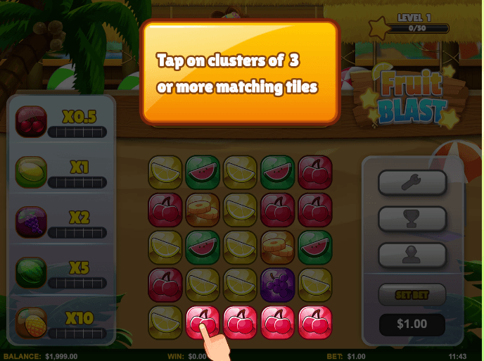 Fruit Blast Slots Online