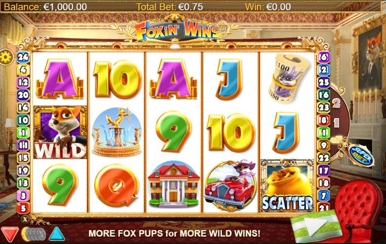 Foxin' Wins Slot Reels
