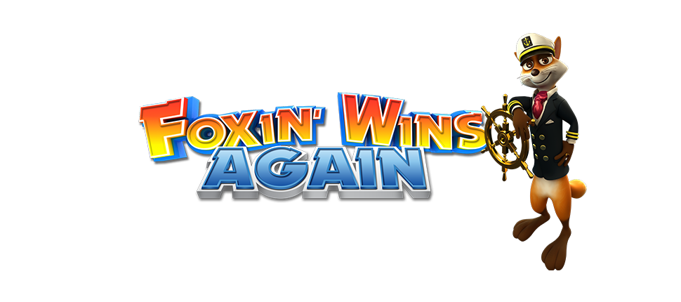 Foxin' Wins Again Slot Logo Thor Slots