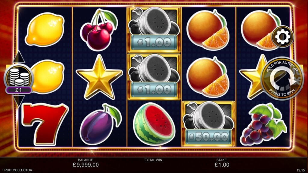 Fruit Collector Slot Gameplay