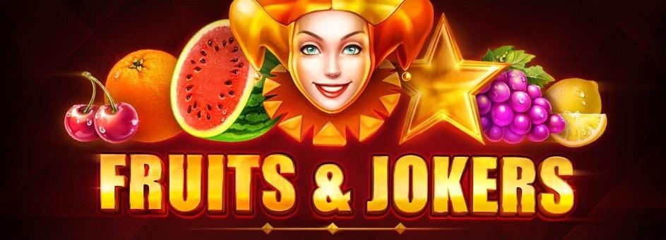 Fruits & Jokers Slot Logo Thor Slots