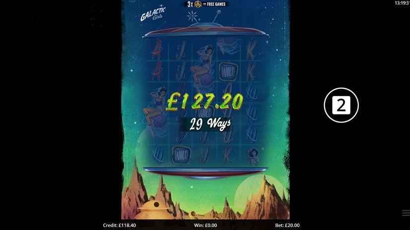 Galactic Girls Slots UK