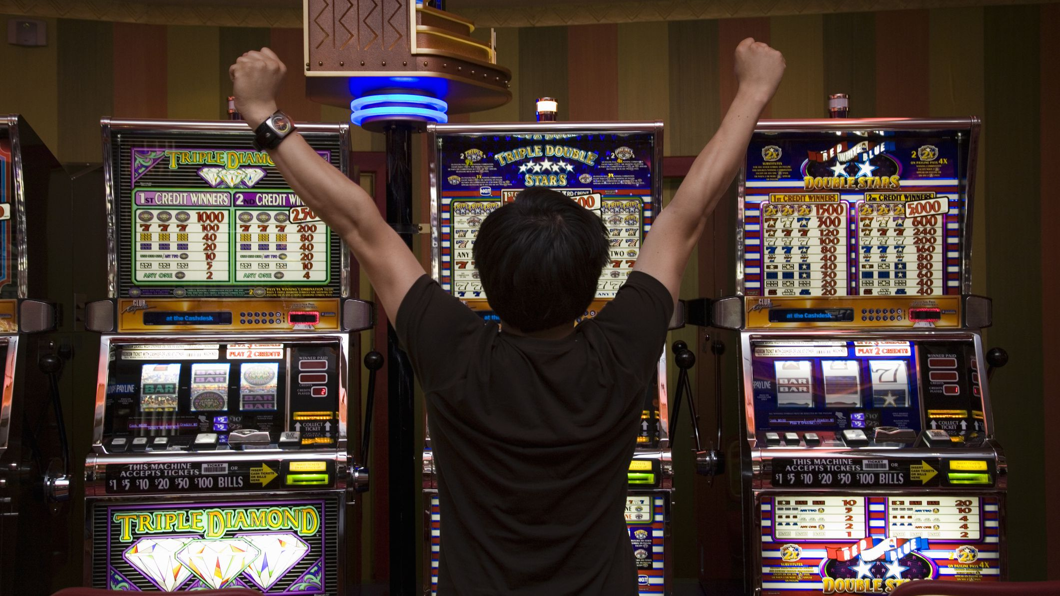 Brick and mortar casinos & Roulette