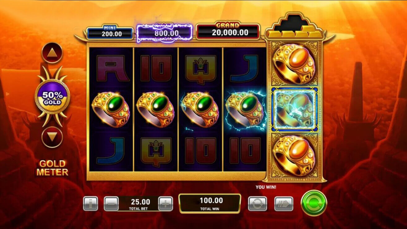 Gold Pile Tigers Pride Slot Gameplay