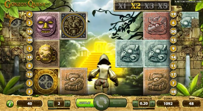 Gonzo's Quest Free Spins Slots