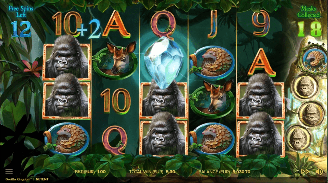Gorilla Kingdom Slot Game
