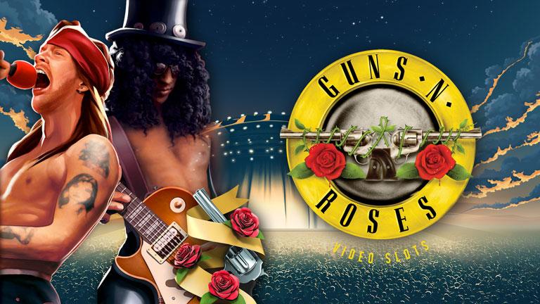 Guns N Roses Video Slot Logo