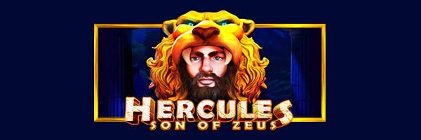 Hercules Son of Zeus video slot Game logo