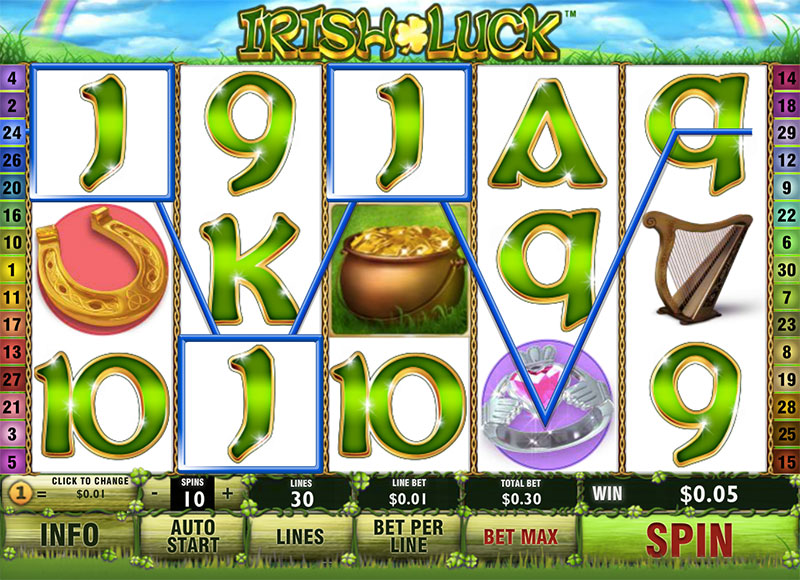 Irish Luck Screenshot