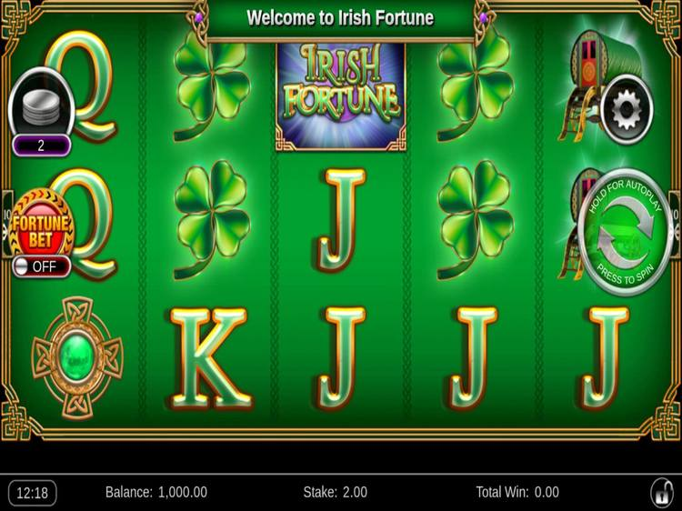 Irish Fortune Slots Reels