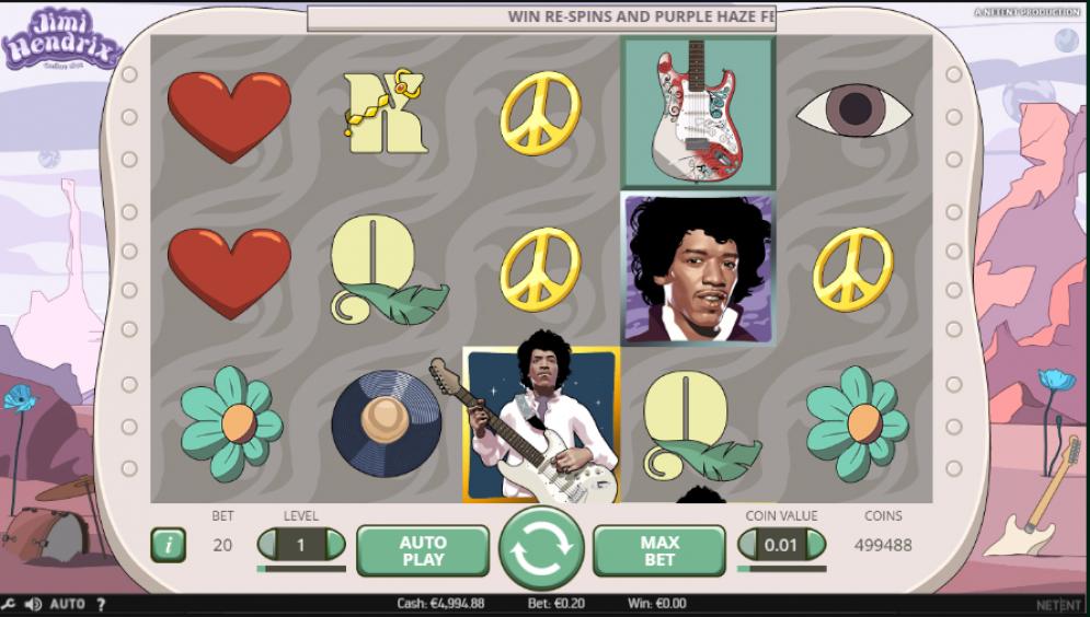 Jimi Hendrix Gameplay