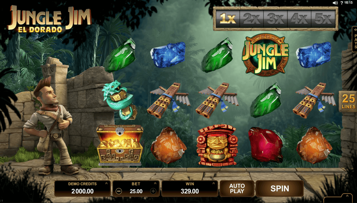 Jungle Jim El Dorado Gameplay