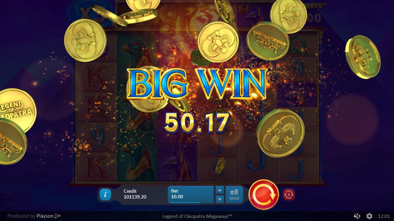 Legend Of Cleopatra Megaways Big Win