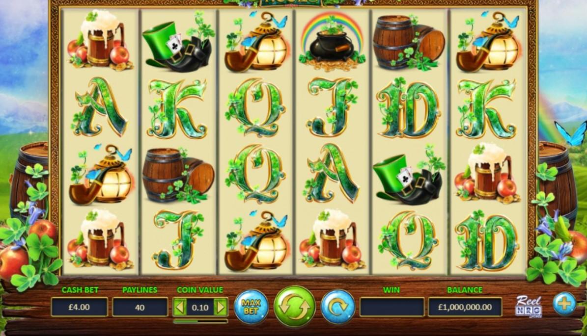 Leprechaun's Reels Slots Gameplay