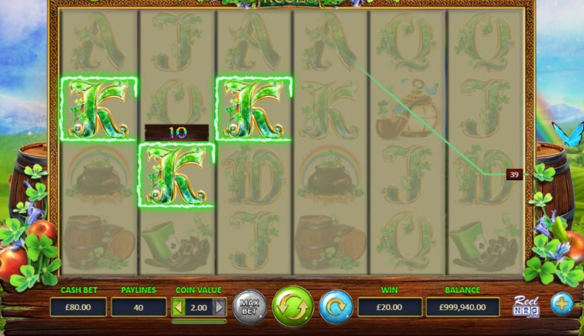 Leprechaun's Reels Slot Gameplay