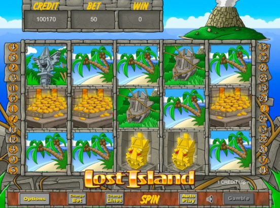 Lost-Island gameplay images