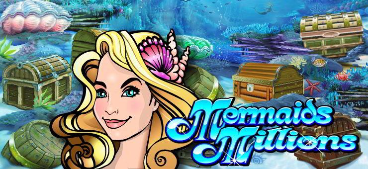 The Logo Of Mermaids Millions
